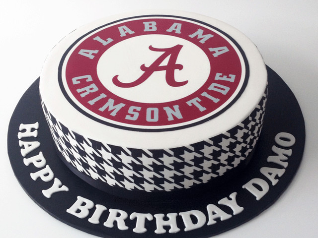 Alabama Football Birthday Cake Marrickville