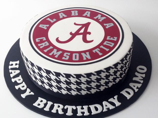 Alabama Football Birthday Cake Marrickville