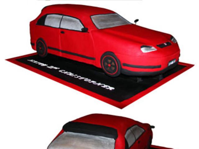 Automobile 3D Cake Marrickville
