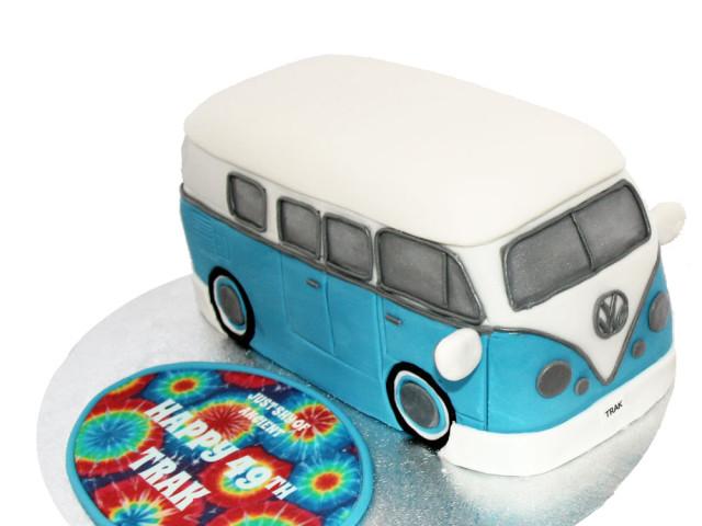 Bus 3D Birthday Cake Marrickville