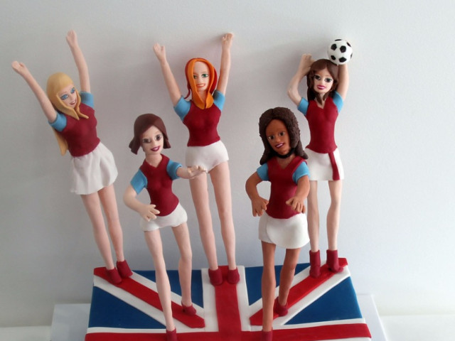 Cheering Squad 3D Cake Marrickville