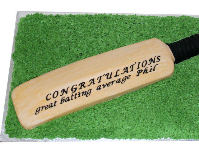 Cricket Bat 3D Cake Marrickville