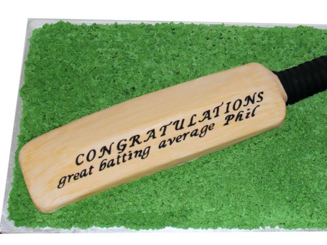 Cricket Bat 3D Cake Marrickville