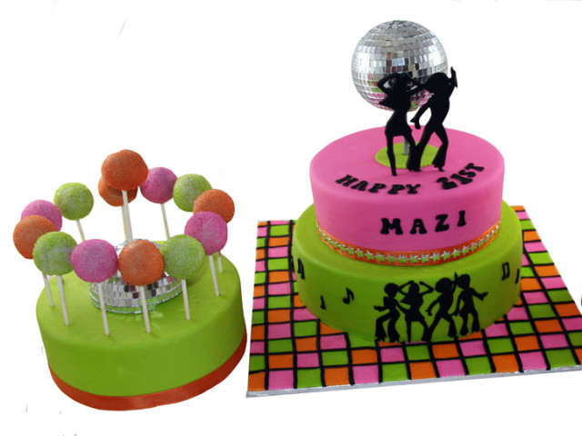 Disco 3D Cake and Cake Pops Marrickville