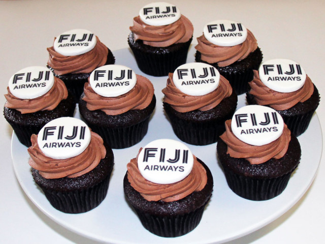 Fiji Airways Corporate Cupcake Marrickville