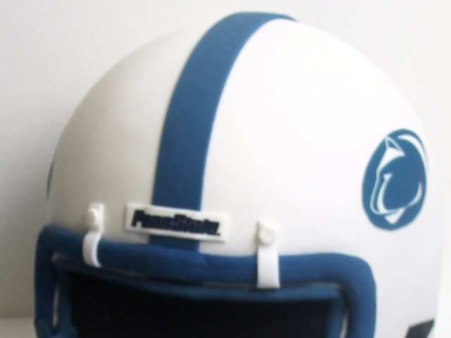Football Helmet 3D Cake Marrickville