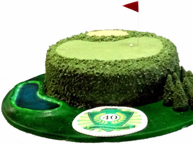 Golf Course 3D Cake Marrickville
