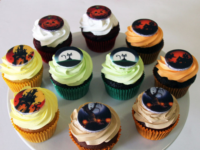 Halloween Frosted Cupcakes Marrickville