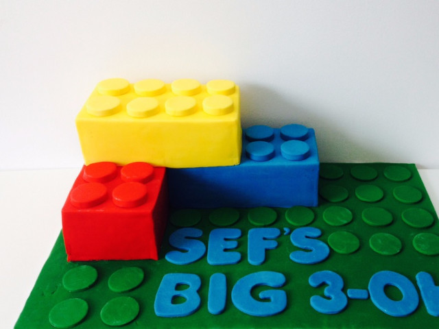 Lego 3D Birthday Cake Marrickville