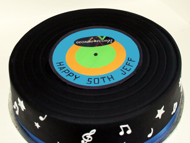 LP Album 3D Birthday Cake Marrickville