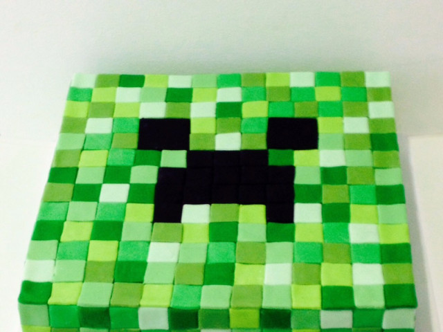 Minecraft 3D Cake Marrickville