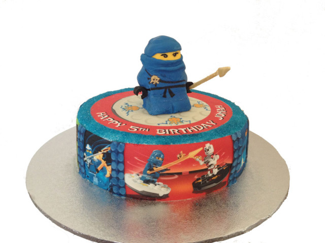 Ninja 3D Birthday Cake Marrickville