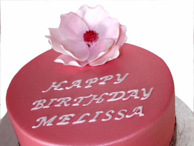 Peony Birthday Cake Marrickville