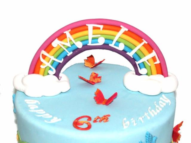 Rainbow 3D Birthday Cake Marrickville
