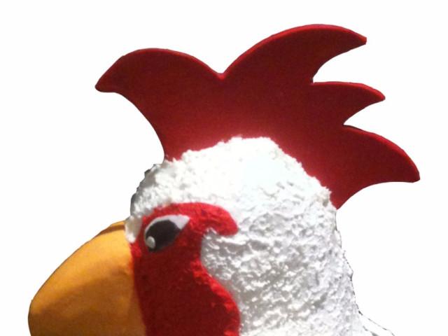 Rooster 3D Birthday Cake Marrickville
