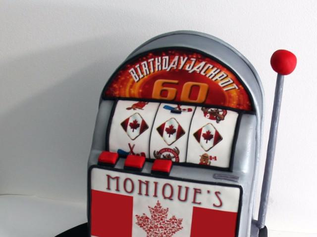 Slot Machine 3D Cake Marrickville