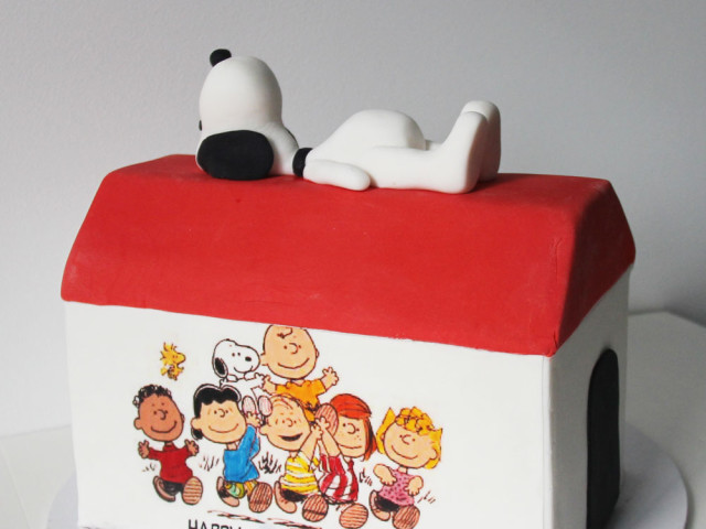 Snoopy and Charlie Brown 3D Cake Marrickville