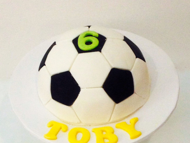 Soccer Ball 3D Birthday Cake Marrickville