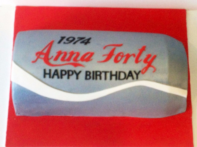 Soda Can Personalized Birthday Cake Marrickville