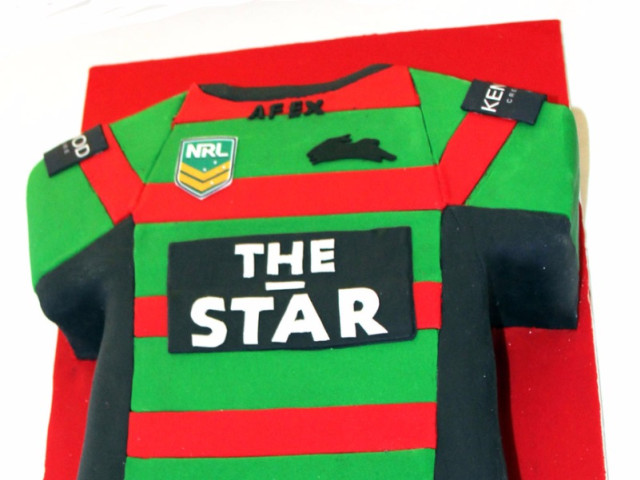 Star Rugby 3D Jersey Cake Marrickville