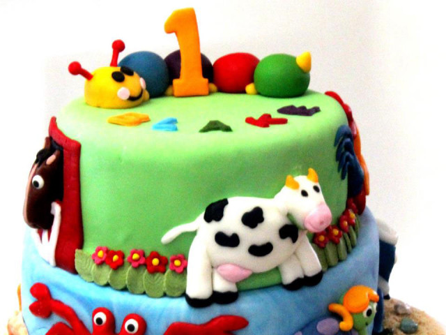 Toy Kingdom 3D Cake Marrickville