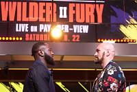 Wilder made fun of Fury before he met...
