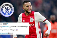 Hakim Ziyech to Chelsea: Ajax send...