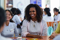 Michelle Obama shock: Luke Skywalker...