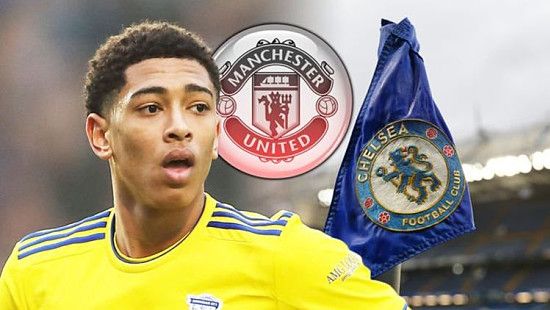 Chelsea join Man Utd in £50m Jude Bel...