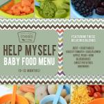 Help Myself Fall Baby Menu - 9 to 12 months