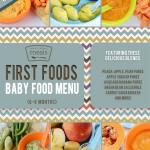 First Foods (6-9+ Months) Winter Baby Food Menu