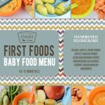 First Foods (6-9+ Months) Winter Baby Food Menu