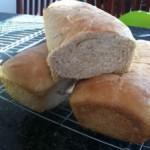 homemade bread success