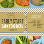 Early Start 4 – 6 Month Baby Food Menu