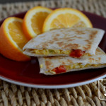 Freezer Breakfast Quesadilla Better Than the Freezer Aisle