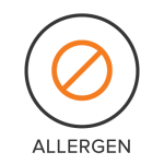 Allergen Menu Badge with Icon