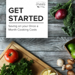 Save Money on Once a Month Cooking