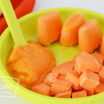 sweet potato puree baby food