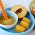 Mango Peach Puree Baby Food