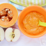 Butternut squash apple puree