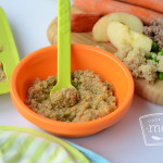 Quinoa Beef and Veggies Baby Food