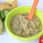 Zucchini Potato Puree Baby Food