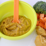 Sweet Potato and Broccoli Puree Baby Food