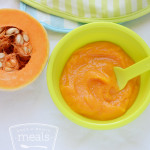 Butternut squash puree baby food