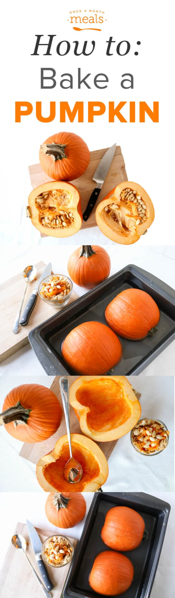 Well, it is fall and what says fall like pumpkins? Let us teach you how to bake a pumpkin yourself and how to use it in recipes. Even babies love it!