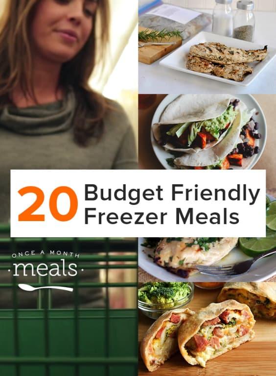 20 Budget Friendly Freezer Recipes