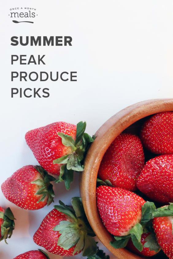 Summer Peak Produce Picks