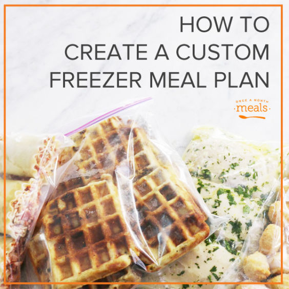 Learn how to create a freezer friendly meal plan that fits your family. Choose your recipes, choose your serving sizes, and print all the resources you need to stock your freezer full of delicious food that fits your family!