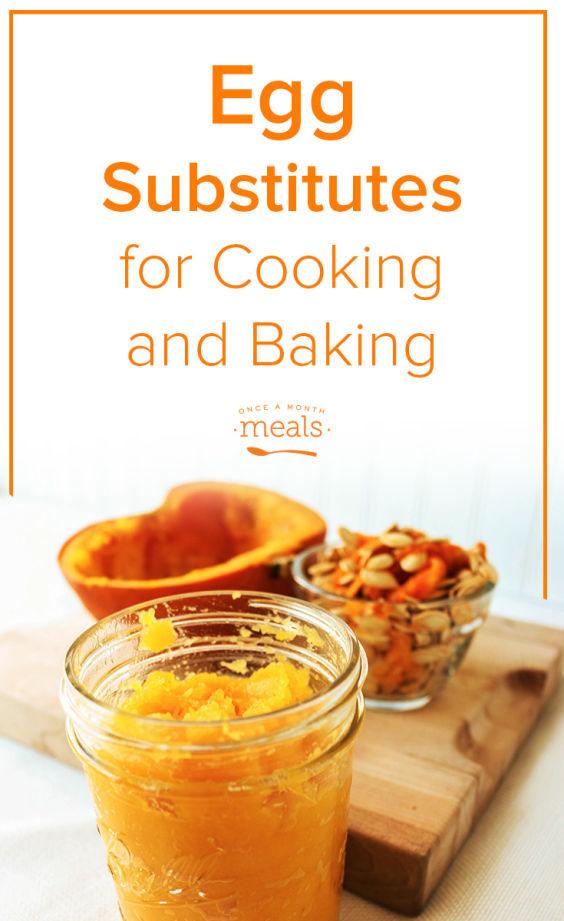 A helpful post on Egg Substitutes for Cooking and Baking. Whether you need a binder, a riser or moisture there are many solutions.