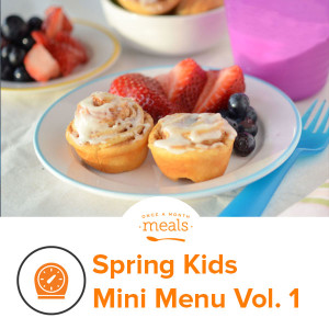 Spring Kids Mini Menu Vol. 1